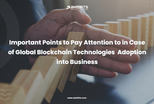 Important Points to Pay Attention to in Case of Global Blockchain Technologies  Adoption into Business